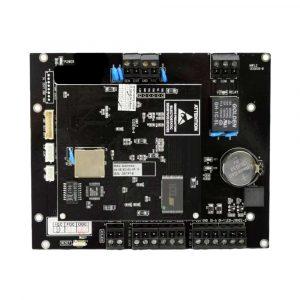 El PCT-201 es una placa controladora de acceso que permite controlar una puerta de Entrada y Salida (con lectores adicionales de RFID o cualquiera con interfaz Wiegand estándar).