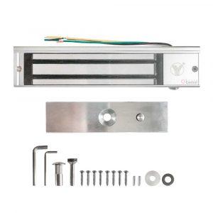 Cerradura Electromagnética 180Kg con Sensor y Led YM-180 para control de acceso