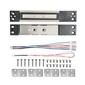 Cerradura Electromagnética + Perno con Sensor YM-2400 para Control de Acceso
