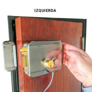 Cerradura tipo portón ABK 702B L   Apertura izquierda para control de acceso