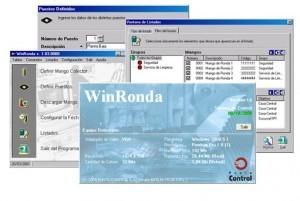 Pantallas Software Winronda